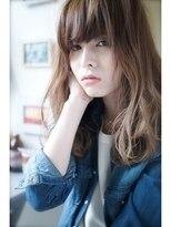 ラベリー(LOVELEY)ロブノーブルクラシカルバイヤージュチェリーレッドミディ☆18
