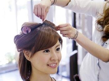 ヘアー シュプール(hair SPUR)の写真/【篠崎駅徒歩1分】特別なパーティーやイベントは誰よりも可愛くいたい!デート・女子会・婚活にも♪