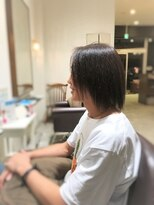鬼クセ毛からのツヤサラストレート 【ARCH】片山雄