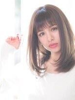 カルフール ロハス 草加東口店(Carrefour LOHAS)☆LOHAS☆ストカールで作る!ワンレン艶髪セミディ