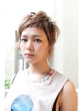 クリコ ヘアーデザイン(CLICQUOT hair design)揺らぎショートGIRL