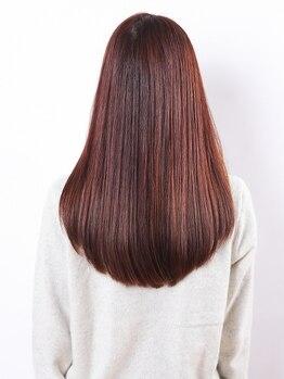 チェルト 桶川(Hair&make CERTO)の写真/[桶川]くせ毛でお悩みならぜひチェルトの縮毛矯正を試してみて下さい!潤い&柔らか上質ヘア♪