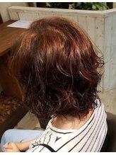 ティーアップヘアー(tee up hair)ふんわりキープデジタルパーマ