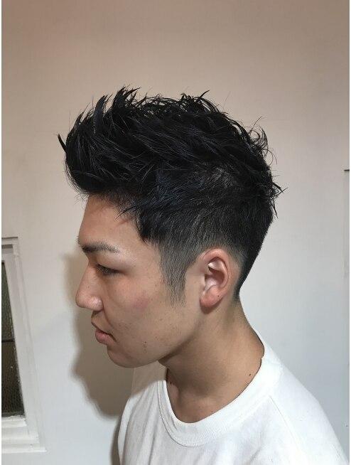 メンズ 髪型 刈り上げ ミディアム