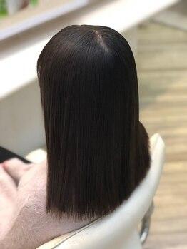 ヘアーカスタム(Hair Custom)の写真/【縮毛矯正¥5900~】2万人が体験してきた高技術縮毛矯正専門店!口コミ高評価多数が何よりの証拠◎【千葉】