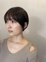 カインド 南青山(hair&make up KIND)大人ショートスタイル