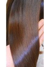 全てが髪に優しい技術です。カラーもストレートもパーマも。