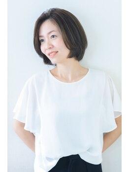 ファンタジーヘアー(Fantasy Hair)の写真/これからも白髪染めを続ける方にはハーブカラー¥4950~がオススメ☆髪や地肌に優しいヘアカラーで綺麗に♪