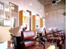 ココロ ヘアー 市野店(Cocolo hair)の雰囲気(シャンプーも丁寧と好評。会話も楽しめます)