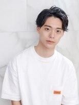 オーブ ヘアー ラルゴ 広島祇園店(AUBE HAIR largo)【AUBE HAIR】爽やかアップバング