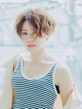 ファーレ Life Beauty店(Fare)【春ヘア】ニュアンスパーマで作る♪ふんわりハンサムショート