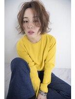 シエン(CIEN by ar hair)CIEN by ar hair片瀬『浜松可愛い』ベージュ+軽ふわ外ハネボブ