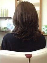 パキアドゥーエ(Pakia due)モテ髮パーマ+艶カラー