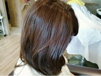 イノブランディングイノベーション(INO branding by innovation)の写真/ツヤ・サラ髪に定評アリ!【INO】のトリートメントは超☆リッチな仕上り◎愛されスタイルは健康な髪から♪
