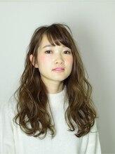 クリア(CLEAR)fringe curl style