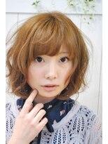 【miel hair blanc】シフォン♪パーマ