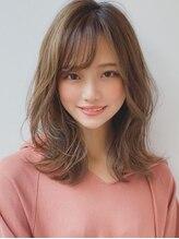 アグ ヘアー ラポール 磐田店(Agu hair rapport)《Agu hair》働く女性にお勧め大人可愛い外ハネセミディ