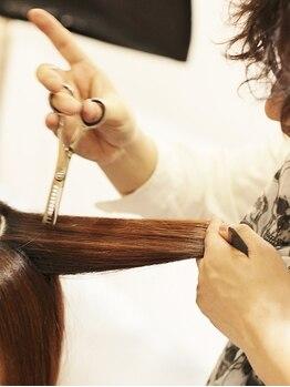 ヘアーメイク レリィ(Hair make Relie)の写真/あと5分ドライヤーが楽になる!!特許技術の【リセッター】★お悩み解消◎ダメージレスで髪に優しい!