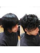 ヘアーメイクサロンアカイシ(hairmake salon AKAISHI)クセ毛風ミックスパーマ