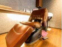 ヘアー サロン スカイ(Hair Salon Sky)の雰囲気(シャンプー台の【YUME】は座り心地が◎施術中についウトウト…♪)