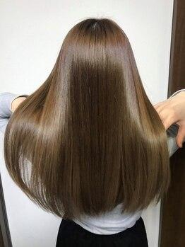 サティラヘアー(Satila hair)の写真/美髪になれる「Re水素ヘアエステ」 導入サロン◎今までのトリートメントでは満足できない!という方へ♪