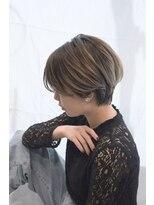カイル (KAIL)【仙台美容室KAIL】ブリーチオンカラー シアカラー 前髪あり