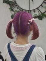 ヘアーサロン エール 原宿(hair salon ailes)(ailes 原宿)style389 ピンクツインテール☆夏のヘアアレンジ