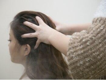 ルプラ ファシル(le-pla Facil)の写真/<豊川>専用スパroomで癒されながら頭皮と髪をケア!!充実のスパメニューでお悩みに合せたケアが見つかる◎