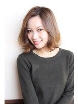 ミニヨン バイ ハピネス 高の原店(mignon by Happiness)Happiness清水美樹×外国人風ヘーゼルナッツカラー