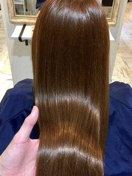 カナエ(CaNaE)の写真/【カット+TOKIOTR¥6480】CaNaEで美髪に☆髪質改善TOKIOトリートメントをリーズナブルに♪