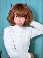 フラ ヘア(Hula hair)【Hulahair】小顔に変身ふんわりbob