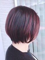 【AMAZING HAIR 美沢店/溝手】大人の艶感ショート