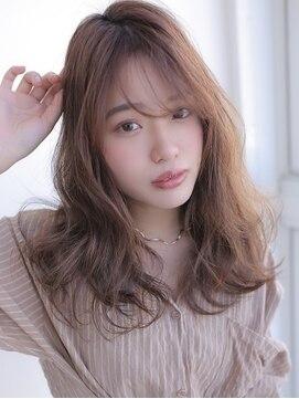 アグ ヘアー ジゼル 花巻店(Agu hair gisele)《Agu hair》ウザバング×大人ゆるカール