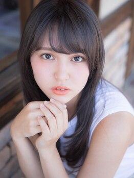 ヘアメイク エイト キリシマ(hair make No.8 kirishima)の写真/ゆらぎやすい頭皮と髪の状態に応じてトリートメントを選定。クセ毛で広がる方も手触りなめらかな艶髪へ♪