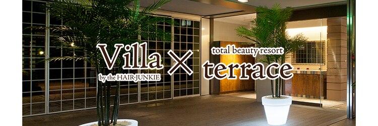 ヴィラ アンド テラス(Villa X terrace)のサロンヘッダー
