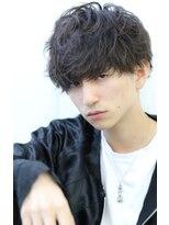 リップス 吉祥寺アネックス店(LIPPS)クラッシュムーブ 無造作ショート 黒髪 セミウェット