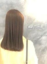 ヘア ストア リタイム(hair store Re-Time)オイルカラーレッド