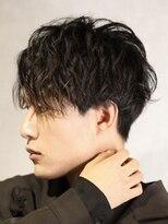 コンフィデンス メンズヘアー(confidence MEN'S HAIR)韓流系 ゆるウェーブマッシュ confidence -MEN'S HAIR-