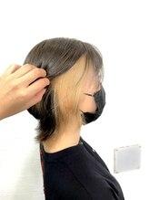クラン ヘアーアンドスタジオ(CLAN hair & studio)インナーベージュ