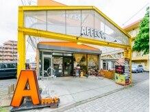 アフェクト(AFFECt.)の雰囲気(オレンジの手書き風の看板が目印!!)