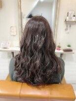 ルルカ ヘアサロン(LuLuca Hair Salon)LuLucaお客様☆スナップ ほんのりバイオレットカラー