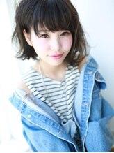 アグ ヘアー アレン 豊科店(Agu hair allen)小顔☆ワイドバングミディ☆