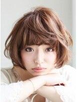ギフト ヘアー サロン(gift hair salon)エアリー ショートボブ スタイル (熊本・通町筋・上通り)