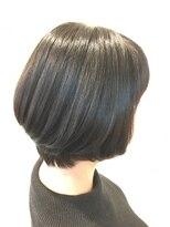 ヘア デザイン クリニック アンテナ(hair design clinic ANTENNA)ナチュラルショートボブ