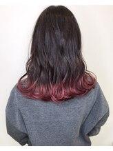 リゴ ヘアー(RIGO hair)ピンクグラデ