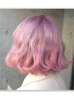 ミエルヘアーアンドスパ(miel hair&spa)◆miel◆ホワイト ピンク × ミルキーピンク