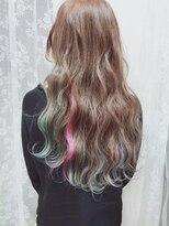 アリス ヘア デザイン(Alice Hair Design)Alice☆エアリーマーブルロング×ムラ染め