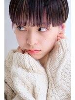ラレイ(Lalei)【ささき】髪質改善カット×マッシュショート×インナーカラー