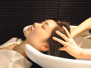 アンサルトヘア(unsarto hair)の写真/【福島/野田】すぅっと疲れが取れていく絶妙なマッサージの虜♪oggi otto付の贅沢コースがおすすめ!