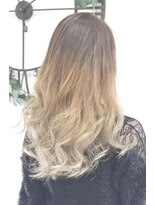 ヘアーサロン エール 原宿(hair salon ailes)(ailes 原宿)style293 デザインカラー☆ミルクティーベージュ